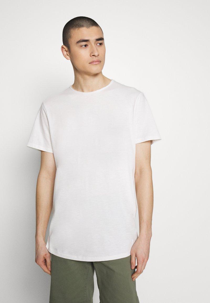 Jack & Jones PREMIUM - JJEASHER TEE O-NECK NOOS - Basic T-shirt - cloud dancer
