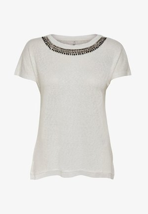 ONLRILEY BLING - T-shirt con stampa - cloud dancer