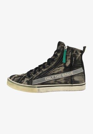 S-DVELOWS MCZ - Höga sneakers - black