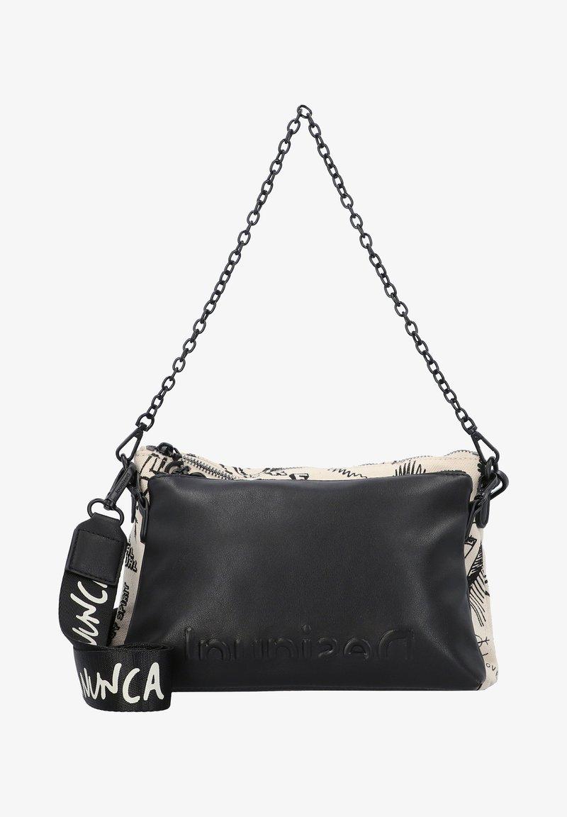 Desigual - Across body bag - blanco lino