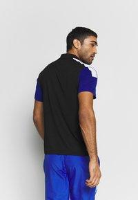 Lacoste Sport - TENNIS - Sports shirt - black/cosmic white - 2