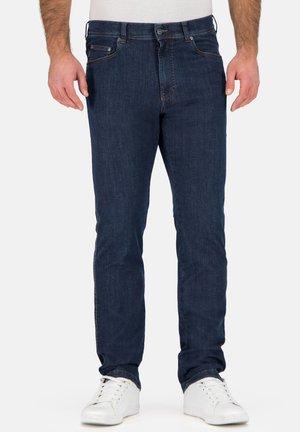 GENUA III DO - Slim fit jeans - blau  schwarz