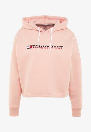 CROPPED HOODY - Bluza z kapturem - pink