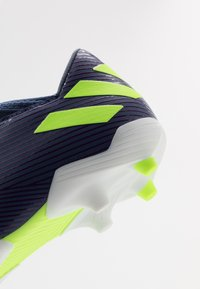 adidas Performance - NEMEZIZ MESSI 19.3 FG - Moulded stud football boots - tech indigo/signal green/glow purple - 2