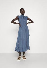 Bruuns Bazaar - SENNA OFIA DRESS - Day dress - riverside - 0