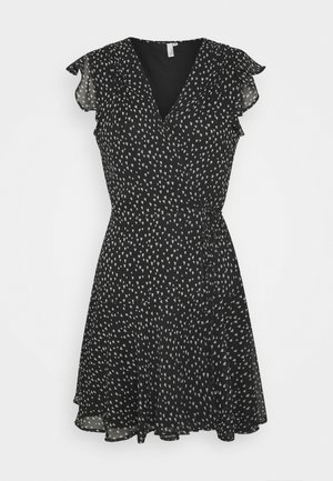 COME AROUND DRESS - Day dress - black
