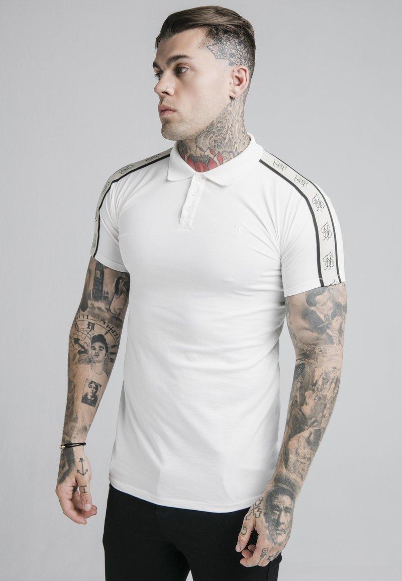 SIKSILK - PREMIUM TAPE - Polo shirt - off-white