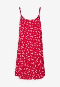 Pieces Petite - PCNYA SLIP DRESS - Korte jurk - goji berry - 1