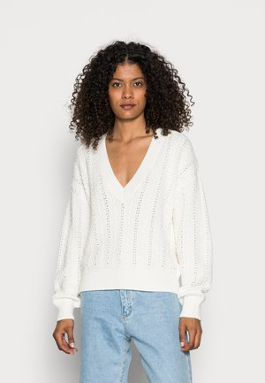 CORE CARDIG - Jumper - off white