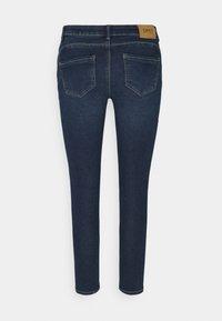 ONLY Petite - ONLDAISY LIFE PUSH UP  - Jeans Skinny Fit - dark blue denim - 1