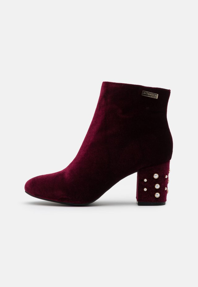 CHANNON - Ankelboots - bordeaux