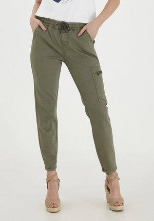 Cargo trousers - hedge