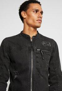 Be Edgy - BETRAVER - Denim jacket - black used - 3