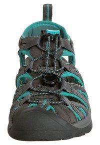 Keen - WHISPER WOMEN - Walking sandals - dark shadow/ceramic - 4