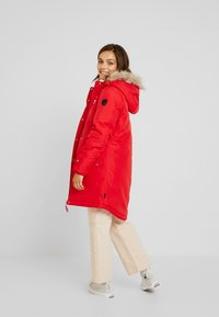 Vero Moda Petite - VMTRACK EXPEDITION - Parka - chinese red - 2