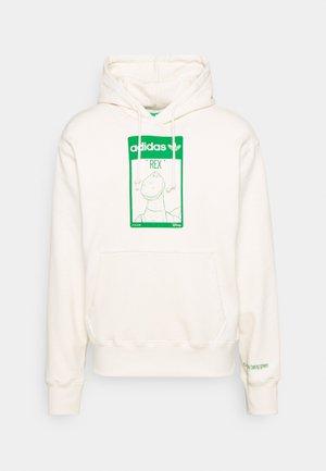 HOODIE REX UNISEX - Sweatshirt - off white