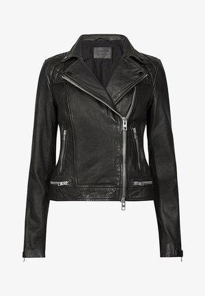 CONROY BIKER - Leather jacket - ink