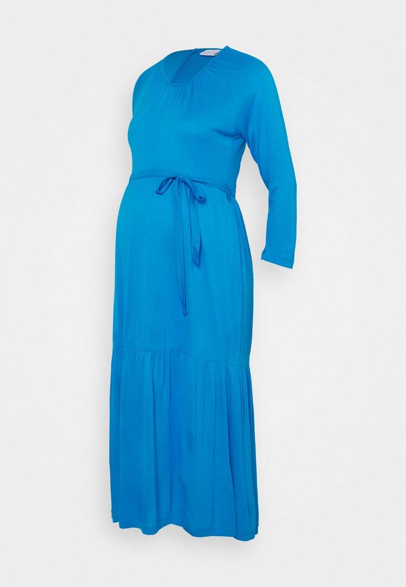 MAMALICIOUS - MLSIMANTHA MIDI DRESS - Žerzejové šaty - blue aster