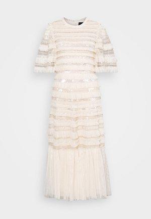 NANCY FRILL BALLERINA DRESS - Vestito elegante - champagne