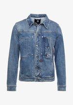 SCUTAR SLIM - Giacca di jeans - worn in aged