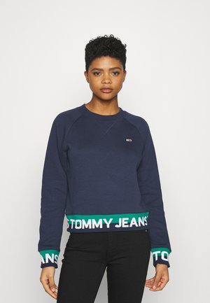 BRANDED HEM - Sweatshirt - twilight navy