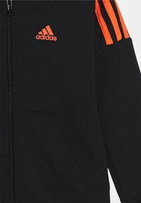 adidas Performance - UNISEX - Tracksuit - black/true orange - 3