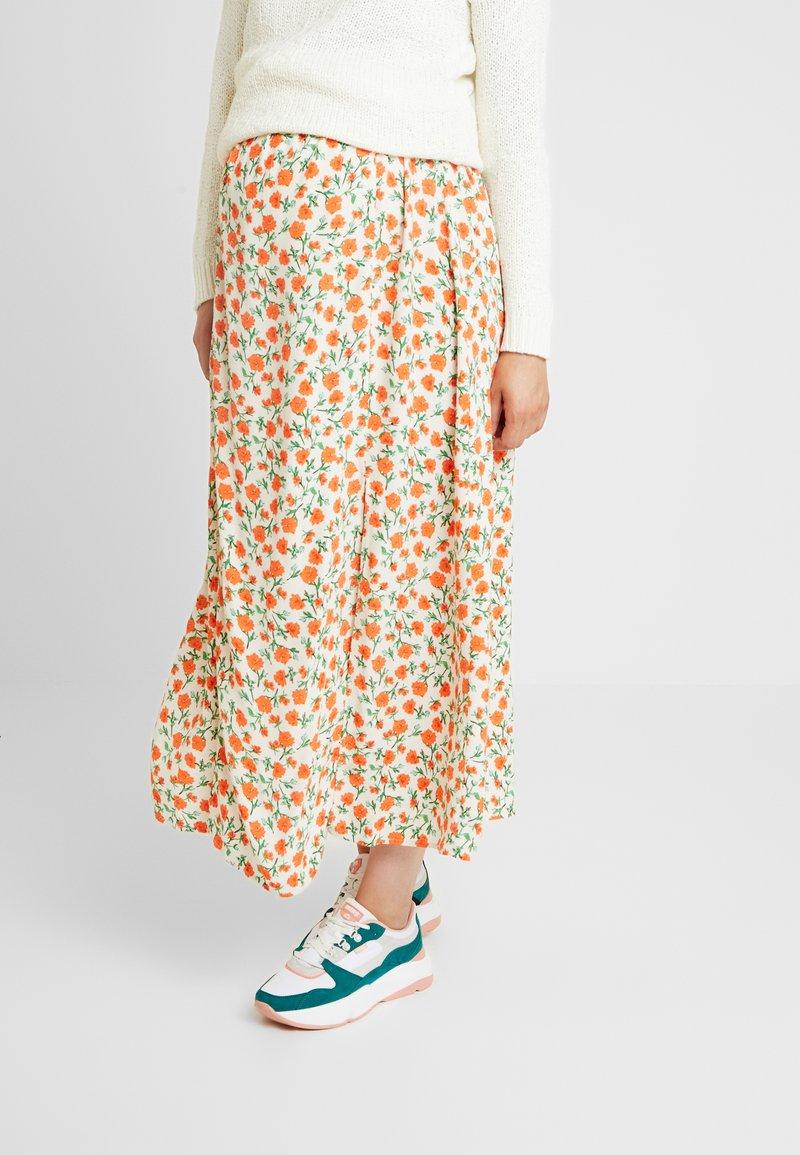Topshop Maternity - AUSTIN - A-line skirt - cream