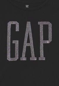 GAP - GIRLS - T-shirt con stampa - true black - 2