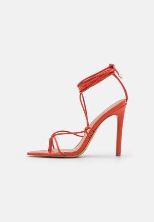 GLAOSA - T-bar sandals - orange