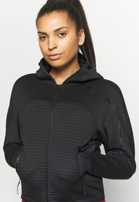 adidas Performance - W ZNE A H C.RDY - Sports jacket - black - 5