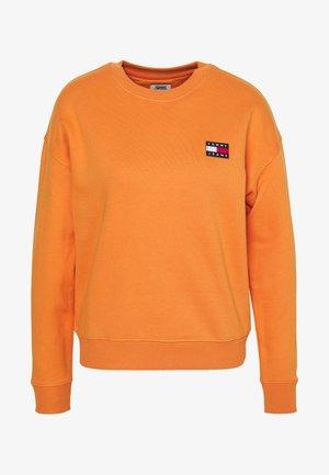 TOMMY BADGE CREW - Collegepaita - rustic orange