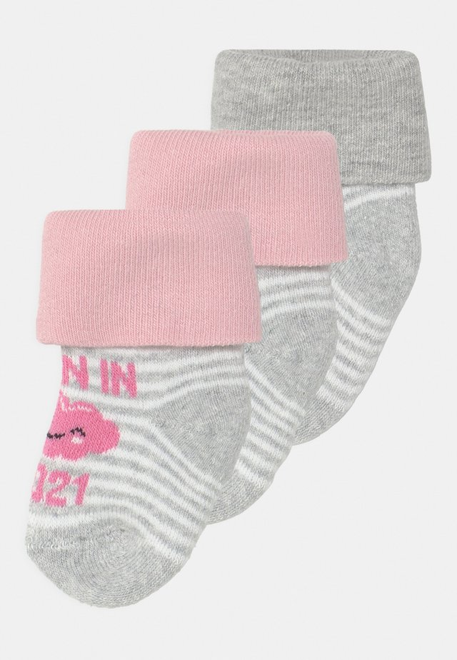 BORN IN 2021 3 PACK - Calze - pink
