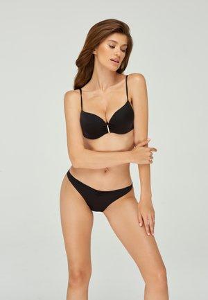 Bikinibroekje - black denim