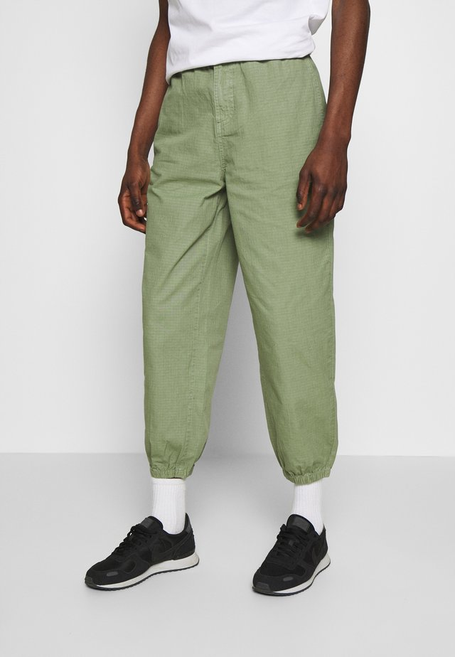 RIPSTOP RELAXED TROUSERS - Broek - khaki