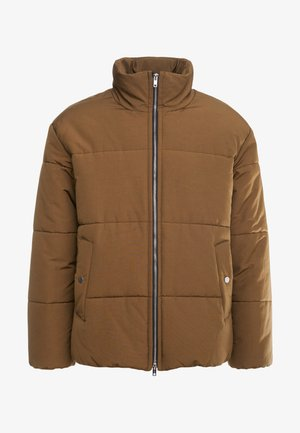 PUFFER COAT - Winter jacket - tobacco