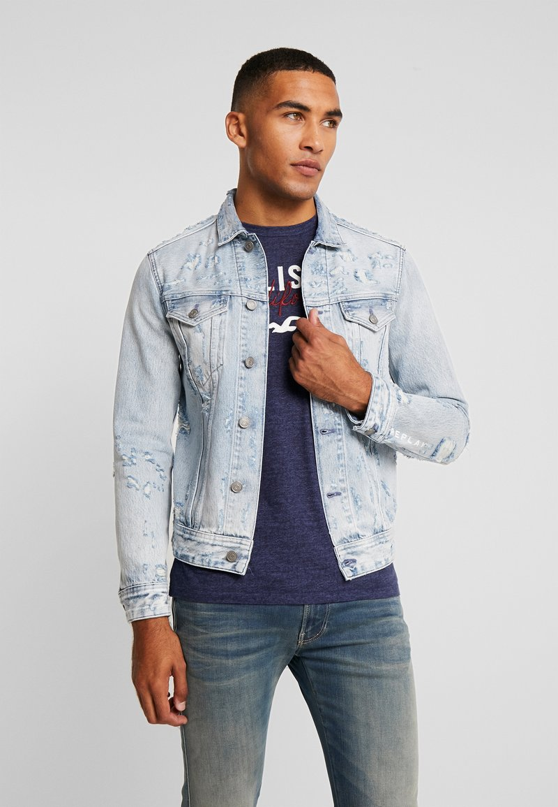 Replay - Denim jacket - super light blue