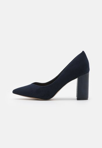 WIDE FIT WILDROSE - Classic heels - night blue