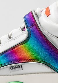 Buffalo London - Joggesko - white/rainbow - 2