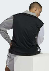 adidas Originals - BLOCKED FIREBIRD TRACK TOP - Training jacket - black - 4