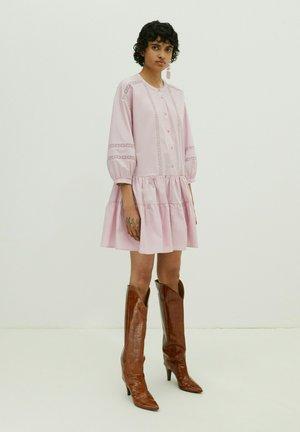 Shirt dress - lila