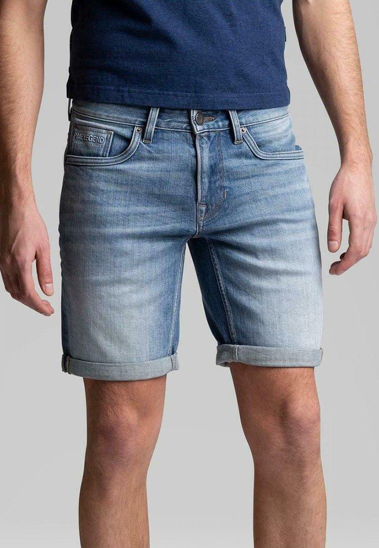PME Legend - LEGEND NIGHTFLIGHT - Denim shorts - blue