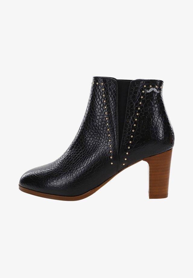 JEANNE - ANKLE BOOTS - Boots à talons - black