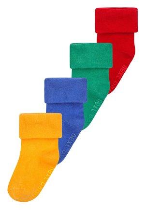 4 PACK SOCKS - Socks - red