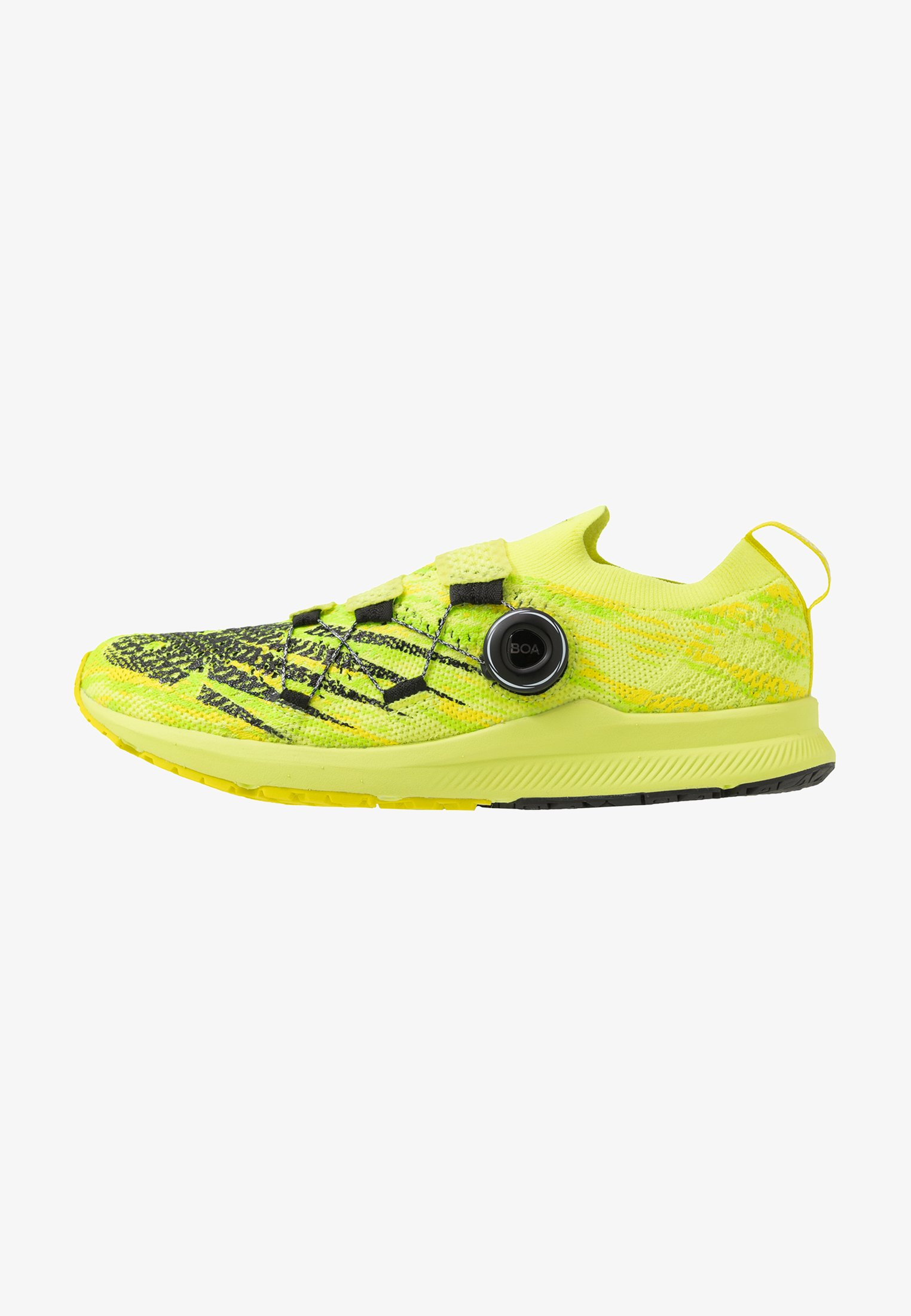 Hierbas Lirio Jabón  New Balance 1500 V6 BOA - Competition running shoes - yellow/neon yellow -  Zalando.ie