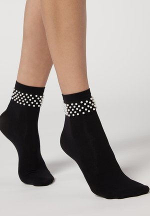 Socks - nero gr ch mel