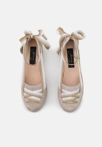 Gaimo - EVA - Lace-up heels - stone - 5