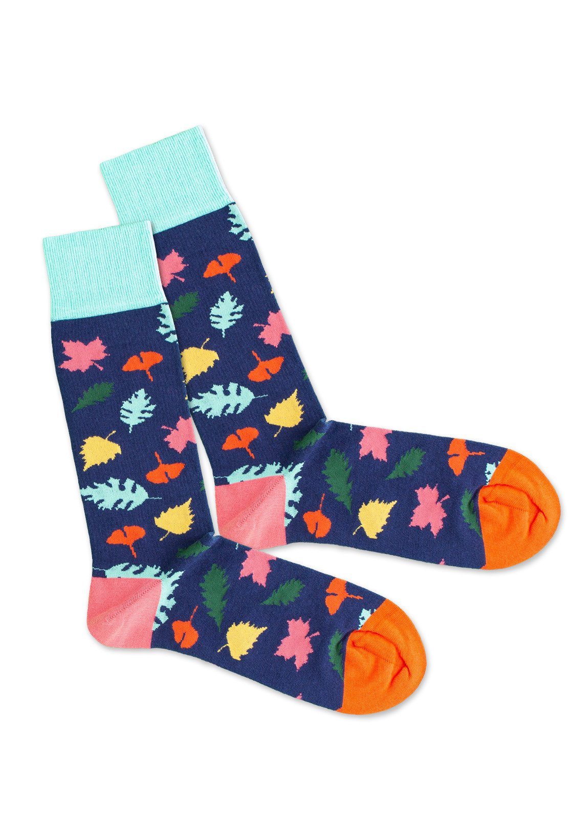 Mujer MIDNIGHT LEAVES - Calcetines