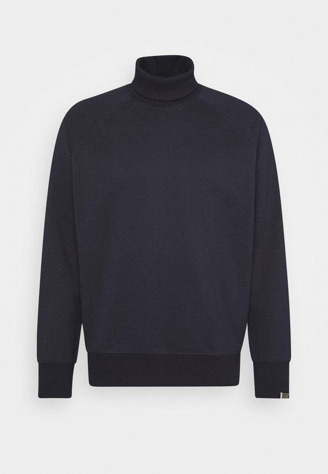 ROLL NECK HEAVY WITH RAGLAN SLEEVE - Sweatshirt - night