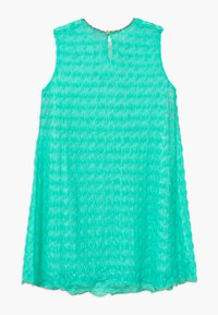 Missoni Kids - Jumper dress - turquoise - 1