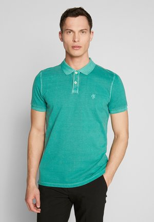 SHORT SLEEVE BUTTON PLACKET - Polo shirt - shady glade